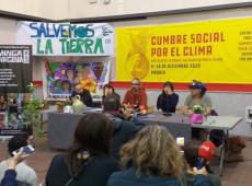 Representantes de la Cumbre Social por el Clima convocan para Marcha Global en Madrid