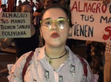 Manifestantes repudian presencia del secretario general de la OEA en Paraguay